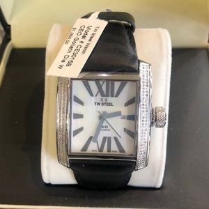 TW steel diamond watch